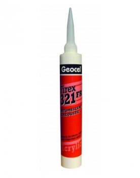 Geocel - Firex 321 One Part Acrylic Intumescent & Acoustic Sealant (380ml)
