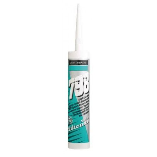 Dow Corning - 798+ Bacteria Resistant Cold & Clean Room Silicone Sealant