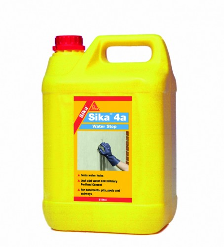 Sika 4a Waterstop 5 Litre Sealants Amp Tools