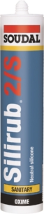 Soudal - Silirub 2/S - 310ml  Box of 15