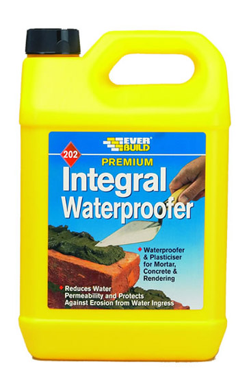 Everbuild - 202 Integral Liquid Waterproofer 5 Litres