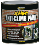 Everbuild - ASBO Anti-Climb Paint Black 1 Litres