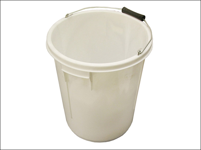 Faithfull - 5 Gallon 25 litre Bucket - White