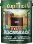 Cuprinol - Ducksback 5 Year Waterproof for Sheds & Fences 5L