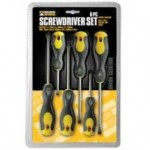 Builders Brand - 6 Piece Screwdriver Set