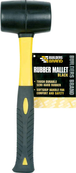 Builders Brand - Rubber Mallet