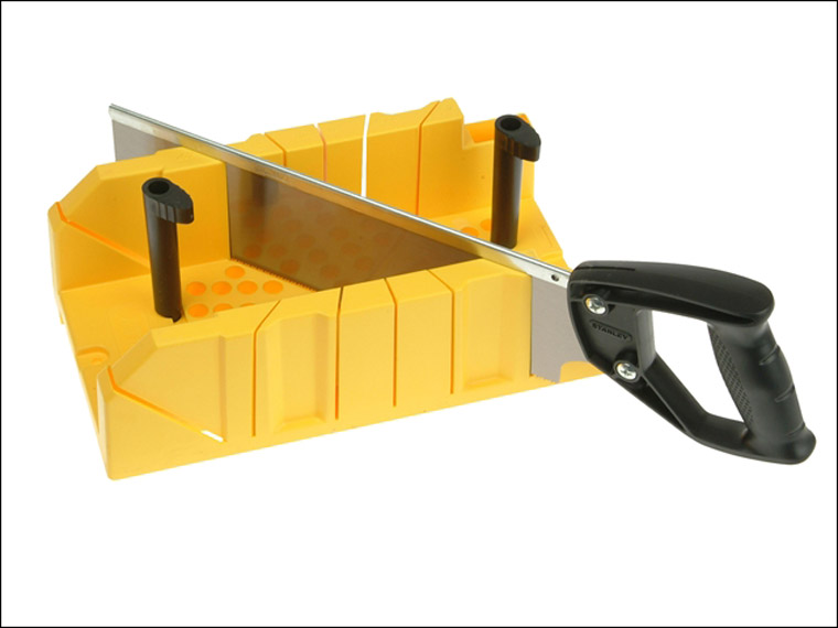 Stanley - Clamping Mitre Box & Saw