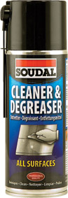 Soudal - Celeaner and Degreaser 400ml