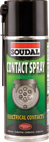 Soudal - Contact Spray 400ml - Box of 6