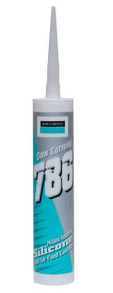 Dow Corning - 786 Mildew Resistant Silicone Sealant Box of 12