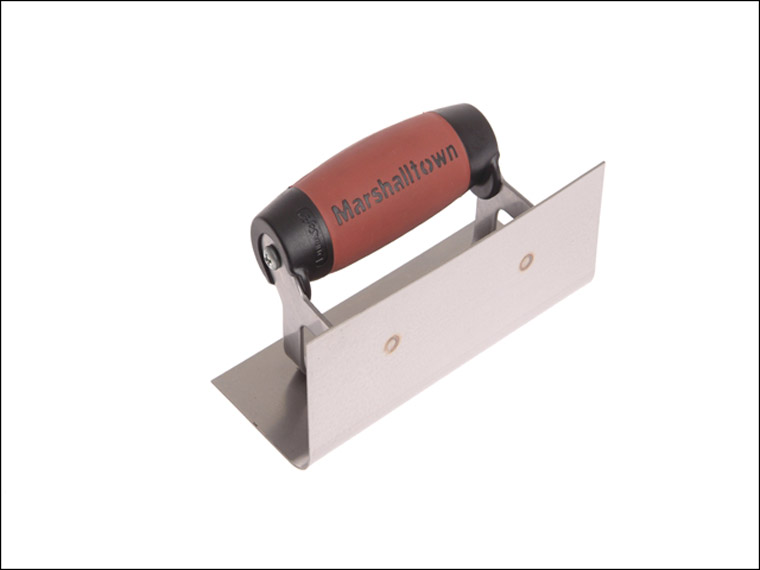 Marshalltown - Internal Corner Trowel Rounded Stainless Steel DuraSoft Handle