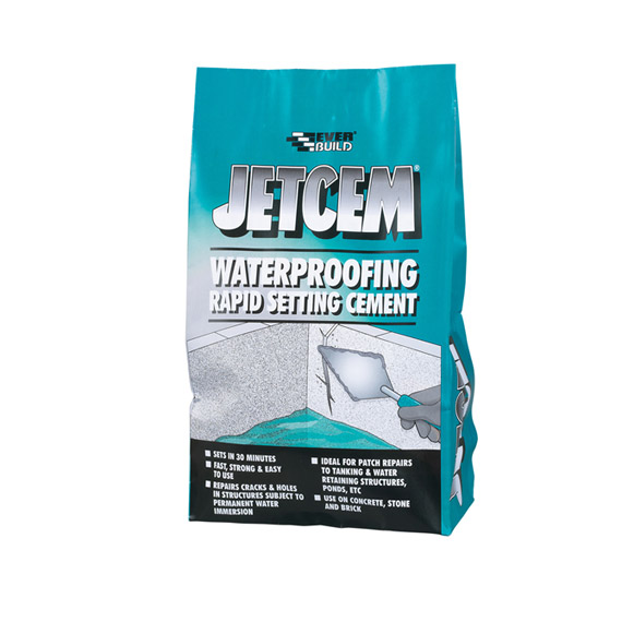 Everbuild- Jetcem Waterproofing Rapid Setting Cement