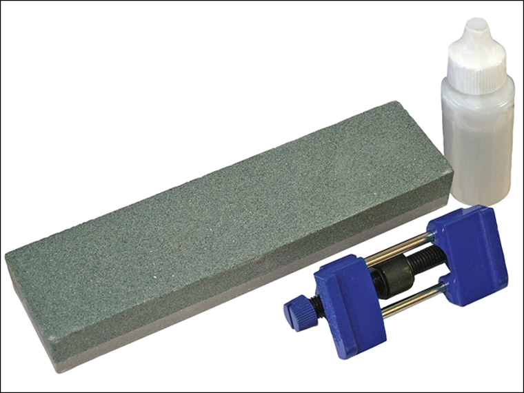 Faithfull - Oilstone 200mm & Honing Guide Kit
