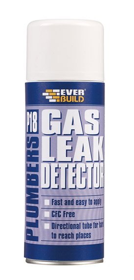 Everbuild - P18 Plumbers Gas Leak Detector 400ml