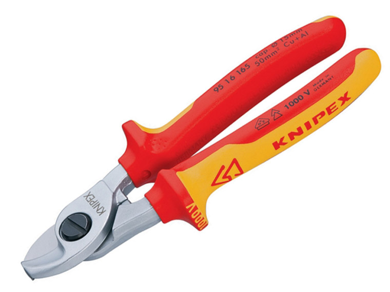 Knipex - Cable Shears VDE Certified Grip 165mm