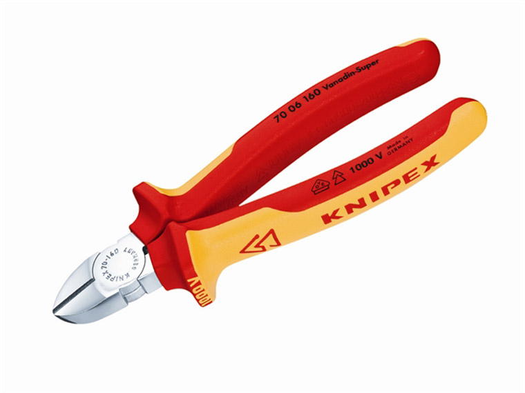 Knipex - Diagonal Cutting Pliers VDE Certified Grip 160mm