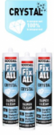 Soudal - Fix All Crystal Clear 290ml - Triple Pack & Scratch Card