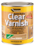 Everbuild - Clear Varnish Various Sizes